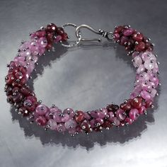 Natural Shaded Ruby Cherry Bracelet by SkyDreams