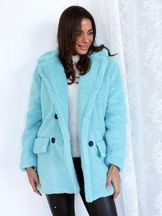 Παλτό Κοντό Με Κουμπιά Φυστικί - My Therapy Bb, Therapy, Jackets, Coats, Fashion, Down Jackets, Moda, Wraps, Fashion Styles