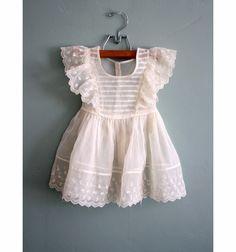 50s vintage baby dress