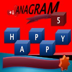 ANAGRAM 5 22thabs Word Games, Amazon Gifts, Cool Words, Places, Smile, Puns, Smiling Faces, Word Work, Lugares