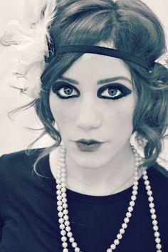 1920's Makeup... @Kylie Knapp Knapp Gember