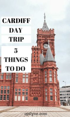 Found out the 5 best things to do on a day trip to Cardiff, Wales. Visit Bute Park and Cardiff Castle and learn more about the history of the city in the Story Museum. Europe Destinations, Europe Travel Tips, European Travel, Travel Guides, Holiday Destinations, Birmingham, By Train, Ireland Travel, Scotland Travel