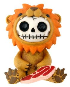 New Furry Bones Lion Collectible Figurine Decoration Sculpture *** For more information, visit image link.