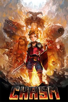"""Chasm System: PC (Windows, Mac, Linux), PS4 Release: Summer 2015 Developer: Discord Website: chasmgame.com / discordgames.tumblr.com Video: Trailer  Description: """"Chasm is a procedurally-generated Platform Adventure currently in development for PC (Win, Mac, & Linux) and Playstation 4. Taking equal inspiration from hack 'n slash dungeon crawlers and Metroidvania-style platformers, it will immerse you in a procedurally-generated fantasy world full of exciting treasure, deadly ..."""