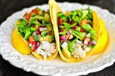 Shredded fish tacos