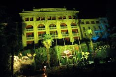 The now Kempinski Palace Hotel as it was in 2005, venue for our Lowe GGK party