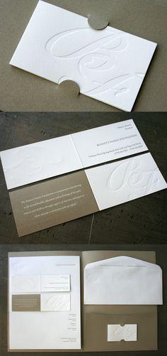 Bennett Family Foundation's LetterPress Business Card & Stationary