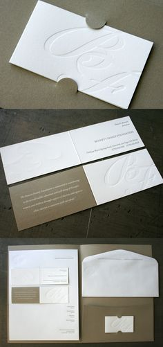 Bennett Family Foundation's LetterPress Business Card & Stationary