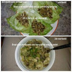 28 Dae Dieet | Mushroom and Lettuce Wraps | Dag 23