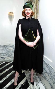 Christina Hendricks in Alexander McQueen
