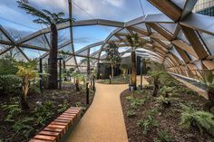 Foster's garden-topped Crossrail Place opens tomorrow at Canary Wharf | Inhabitat - Sustainable Design Innovation, Eco Architecture, Green Building