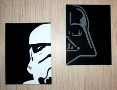 Hey, I found this really awesome Etsy listing at https://www.etsy.com/listing/211705155/stormtrooper-darth-vader-paintings
