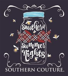 Southern Couture - T-Shirt- Adult - Summer Nights by WoosTooBoutique on Etsy