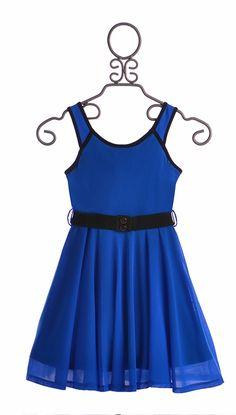 Truly Me Royal Blue Girls Dress (14 & 16)