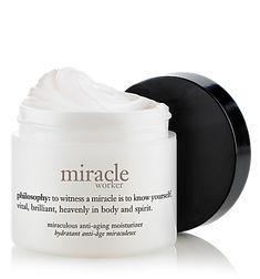 miracle worker my favorite by far....#upliftingphilosophy@philosophy skin care