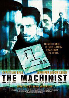 The Machinist (2004) BRRip 720p Dual Audio Hindi BluRay ESub Free Download Full Movie