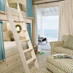 Love bunk rooms in beach houses