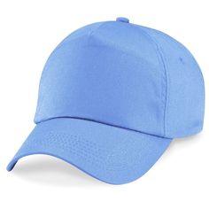 Powder blue cap