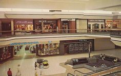 This is what a 1970s mall looks like.....back when they were the shit. (Woolworth and the Harvest House must have had a deal going because there was a Woolworth / Harvest House at the Greenbriar Mall in Atlanta in the 1970's as well, and my mom used to take my sister and I there all the time when we were little)