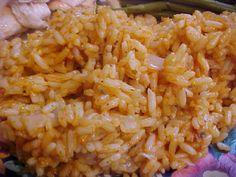 Riz à la portugaise - Lisabete Charrier - My Ideas Quinoa, Confort Food, Food Fantasy, Portuguese Recipes, Portuguese Food, How To Cook Rice, Wine Recipes, Side Dishes, Good Food