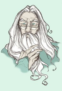 Awesome Dumbledore Harry Potter Art