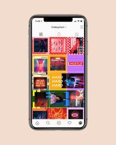 25 Plantillas Para Instagram Ideas In 2021 Instagram Polaroid Collage Facebook Post Design
