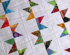 Bunting Quilt Pattern Modern Quilt Scrap Quilt Easy Quilt
