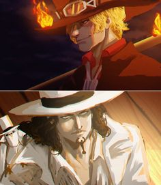 One Piece, Sabo, Lucci