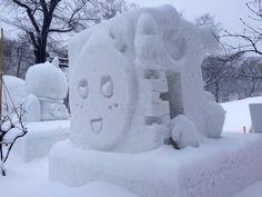 67th雪まつり市民雪像も力作ぞろい!人気投票1位はあの雪像   札幌ぶらぶらダイアリー #SnowFestival  #雪まつり