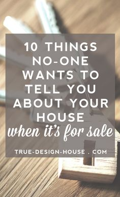 10 Uncomfortable Things No-One Wants to Tell You About Your House When Its For Sale - Home Selling - Ideas of House Buying - - 10 Uncomfortable Things No-One Wants to Tell You About Your House When Its For Sale True Design House Home Selling Tips, Home Buying Tips, Selling Your House, Selling House Tips Cleaning, Cleaning Tips, Interior Design Work, Up House, Stage House For Sale, House To Home