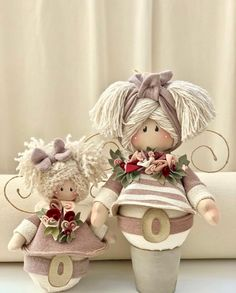 Doll Patterns, Sewing Patterns, Christmas Crafts, Christmas Decorations, Memory Box Dies, Free To Use Images, Doll Hair, Doll Crafts, Crafts To Make