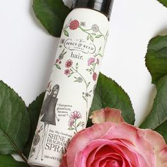 This light mist smells like a rose garden mid-summer. It leaves your locks with a dewy, floral aroma and the most enviable silken shine.
