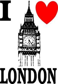 I-LOVE-LONDON-BIG-BEN-KIDS-WHITE-T-SHIRT-AGE-2-to10