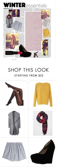 """Pattern mis-match fall style"" by annalaris on Polyvore featuring SPANX, ONLY, Sunspel, Delicious and Smashbox"