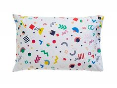 Shake Shape fun pillowcase! Comes in fitted sheet, pillowcase and cushion. Shop the Carnival collection at  http://www.sackme.com.au/product-category/collection/carnival-collection/