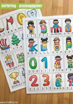 http://Malimo.no - Soreringspuslespill for å øve på lyd, bokstav, ord basert på kompetansemål