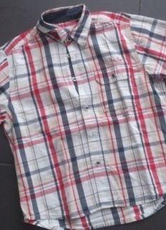 Kaufe meinen Artikel bei #Mamikreisel http://www.mamikreisel.de/kleidung-fur-jungs/kurzarm-hemden/27456151-tom-tailor-hemd-xs-128-134-kurzarm-sommer-kariert