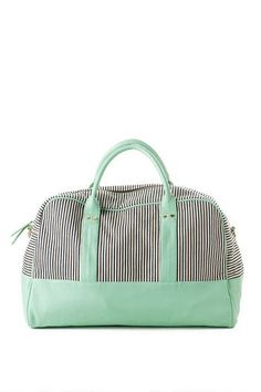 Napa Stripe Weekender Tote Great colors for Amy Butler Weekender Bag