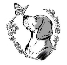 The Art of The Illustrated Rat: Tattoo Design with a Beagle