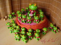 Fiesta de Pepes. Cake topper y souvenirs