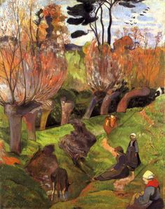 by Paul Gauguin in oil on canvas, done in . Find a fine art print of this Paul Gauguin painting. Paul Gauguin, Tahiti, Henri Matisse, Impressionist Artists, Art Moderne, French Artists, Vincent Van Gogh, Les Oeuvres, Art History