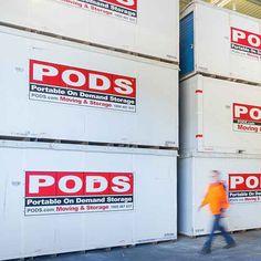 Business Warehouse Storage Pods Moving, Storage Pods, Self Storage, Top Freezer Refrigerator, Warehouse, Commercial, Business, Store, Magazine