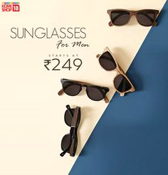 Shades that will definitely amp up your style quotient, starting @ Rs 249.