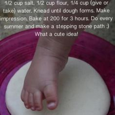 How to Make Homemade Stepping Stones With Flour