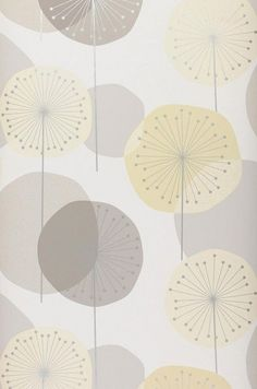WHITE: Muriel | Wallpaper from the 70s