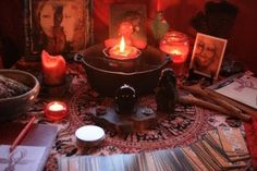 """How to Create a Red Tent Altar"" An Altar can be your own private Sacred Space in your home, or work place, or a group altar in a shared space, or the central altar or direction altars in a ceremony. In holding a Red Tent you may like to create a central altar around which you will sit as a group. READ MORE: https://redtentmovie.wordpress.com/2015/03/17/how-to-create-a-red-tent-altar/"