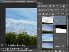 Photoshop tips - Using the - Blend if feature - Photoshop tips, using layers and blending to replace a sky with a new sky.