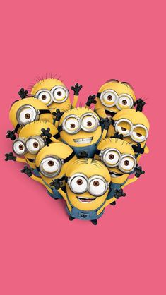 minions - despicable me.need to smile, watch minions! Amor Minions, Minions Despicable Me, Minions Tumblr, Disney Wallpaper, Cartoon Wallpaper, Wallpaper S, Minions Images, Minion Pictures, Minion Rock