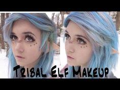 Tribal Elf Makeup Tutorial