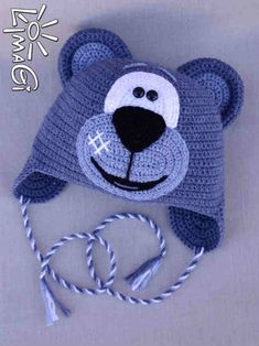 Exceptional Stitches Make a Crochet Hat Ideas. Extraordinary Stitches Make a Crochet Hat Ideas. Crochet Animal Hats, Crochet Kids Hats, Crochet Beanie Hat, Crochet Dolls, Crochet Clothes, Knitted Hats, Bonnet Crochet, Knit Or Crochet, Cute Crochet